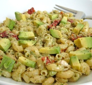 avacado pasta salad