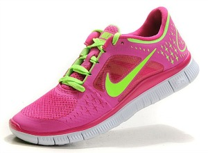 Nike Free Run 5.0 Women Red Green